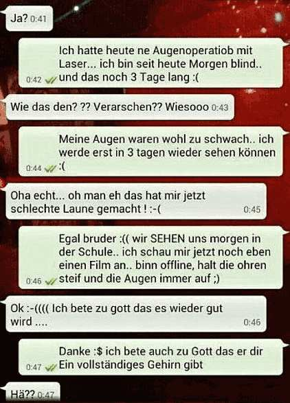 Single kennenlernen whatsapp