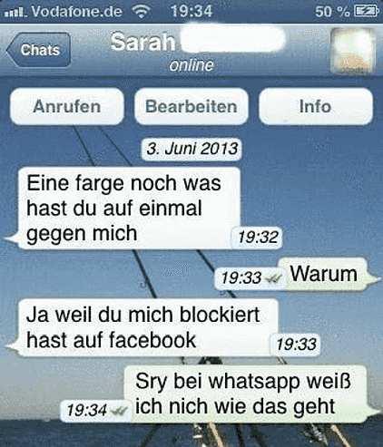 Lustige WhatsApp Bilder
