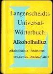 Alkohol Wörterbuch und Lexikon