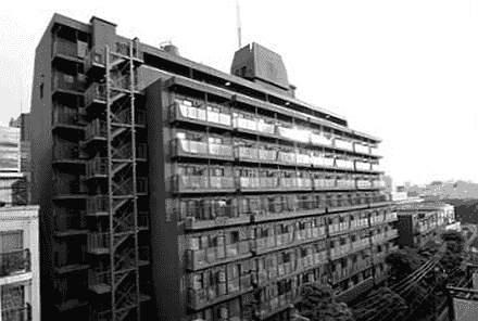Spukhotels: Akasaka Weekly Mansion, Tokio