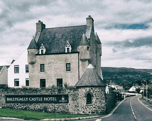 Spukhotels: Ballygally Castle Hotel, Irland