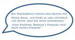 Mantawitze - Freunde von Batman
