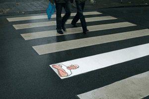 Meister Proper Werbung: Zebrastreifen
