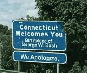 Der Geburtsort von George W. Bush entschuldigt sich