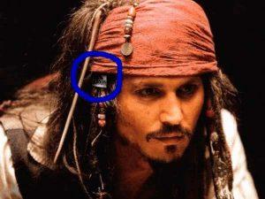Captain Jack Sparrow mit Adidas Logo
