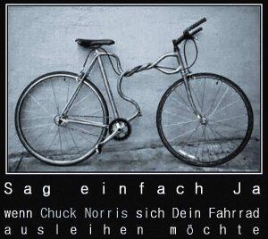 Chuck Norris - Fahrrad ausleihen