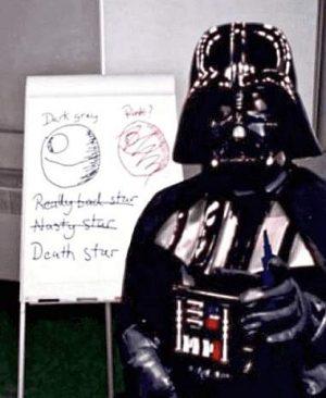 Darth Vader erklärt Namensgebung und Farbauswahl für den Todesstern
