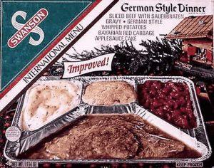 Typisches Deutsches Essen