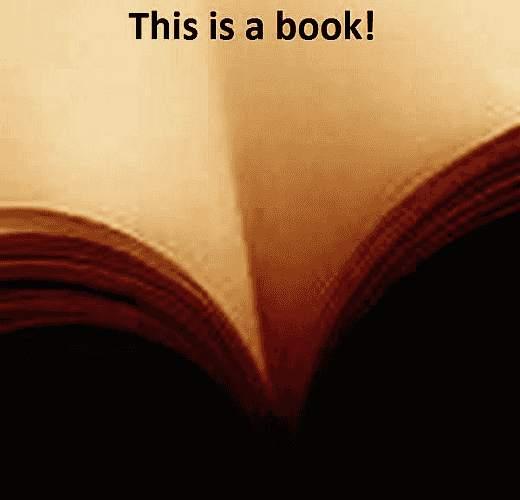 Dies ist ein Buch, und kein Busen