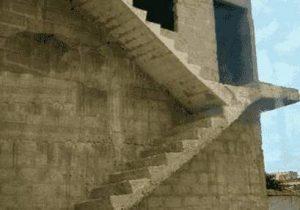 Eschers Treppen in der Realität