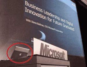 Microsoft nutzt heimlich Apple