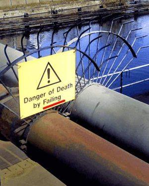 Gefahr durch Fallen?