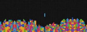 Tetris - Letzter Baustein