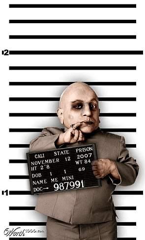 Fotomontage: Fahndungsfoto von Dr. Evil