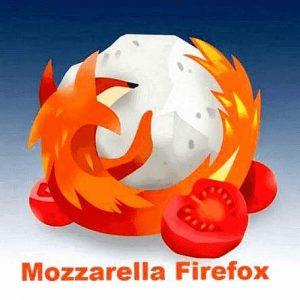 Grafik: Firefox mit Mozzarella