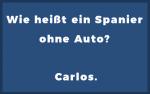 Flachwitze - Spanier ohne Auto