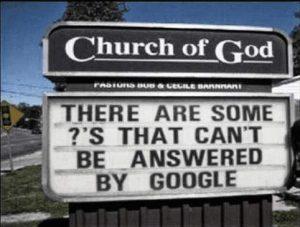 Kirche: Es gibt Fragen, die kann Google nicht beantworten