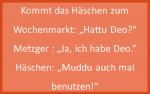 Häschenwitze - Deo benutzen