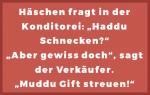 Häschenwitze - Bäcker - Schnecken - Gift