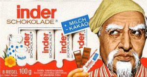 Kinder Schokolade - Inder