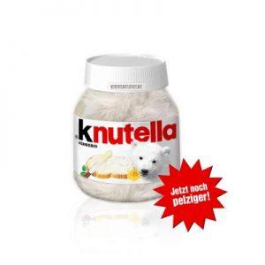 Der Eisbär Knut - und Nutella
