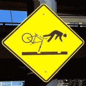 Schlaglöcher & Fahrräder