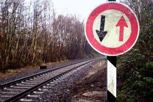 EInweg Schienen