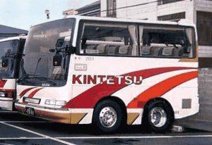 Kurzer Bus, fast mehr hoch als lang