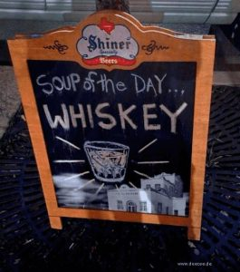 Soup of the Day - Whiskey