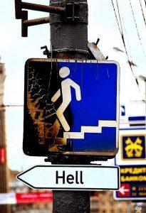 Weg zur Hölle