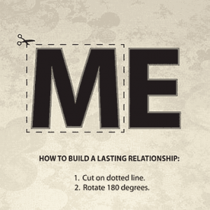 How to build a lasting relationship: ME / WE