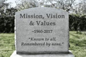 Grabstein - Mission, Vison & Values
