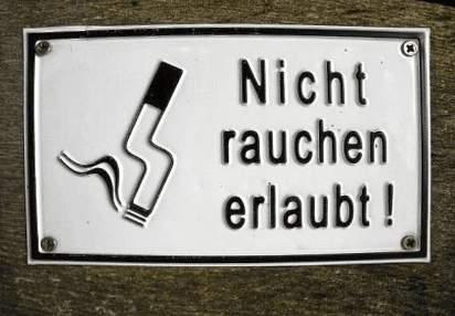Nicht Rauchen - Erlaubt