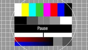 Pausen-Zeichen aus dem Fernsehn