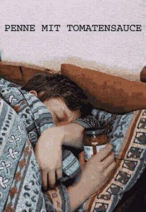 Schlafen mit Tomatensauce