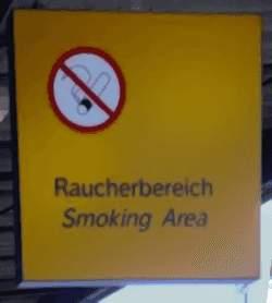 Rauchen: erlaubt oder verboten?