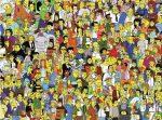 Alle Simpson Figuren auf einem Bild