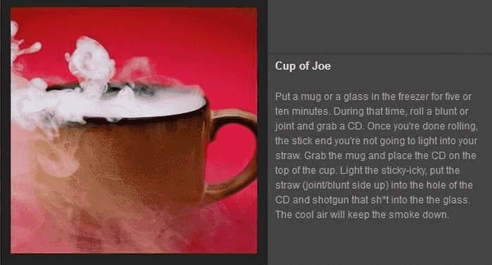 Tricks mit Rauch - Cup of Joe