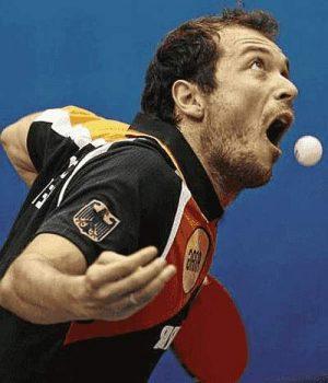 Tischtennis - Lustige Sport Bilder