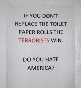 Hassen Sie Amerika