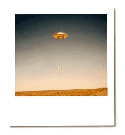 UFO - Wüste