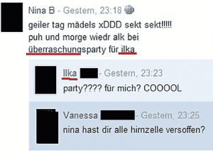 Web Fails - Überraschung - Party