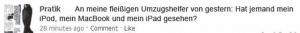 Web Fails - Umzug - Es fehlt ein iPod, ...