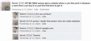 Web Fails - Internet Suche - Google