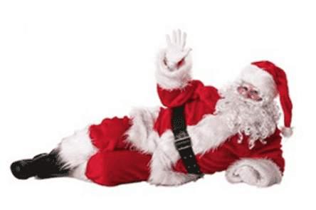 Der Weihnachtsmann macht Winke, Winke